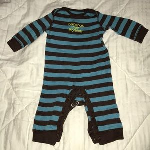 Carters bananas over mommy romper